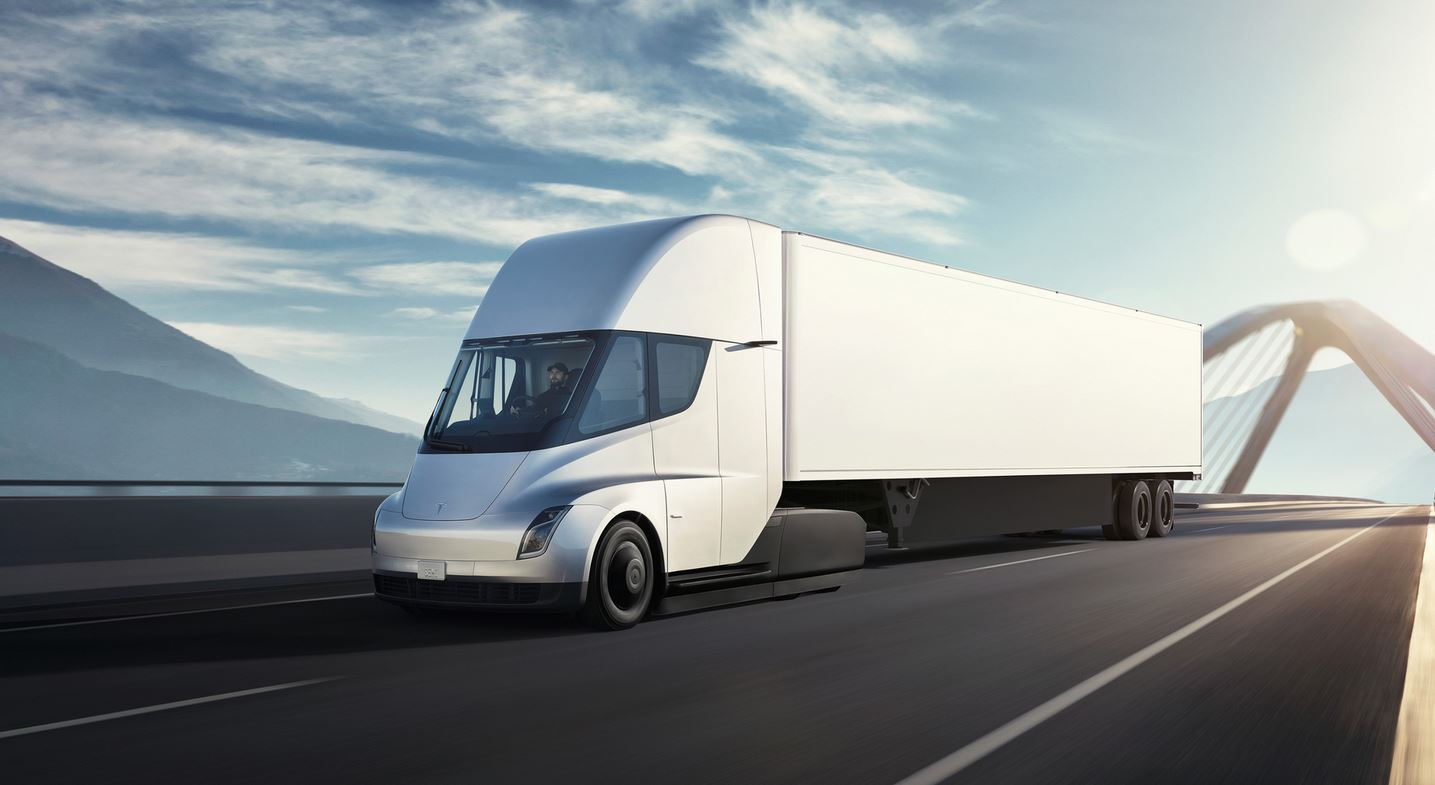 Tesla redo att köra igång tillverkningen av Tesla Semi