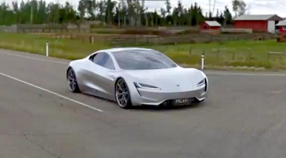 Se känslan när Tesla Roadster maxas och gör 0-96km/h på 1,1 sekunder