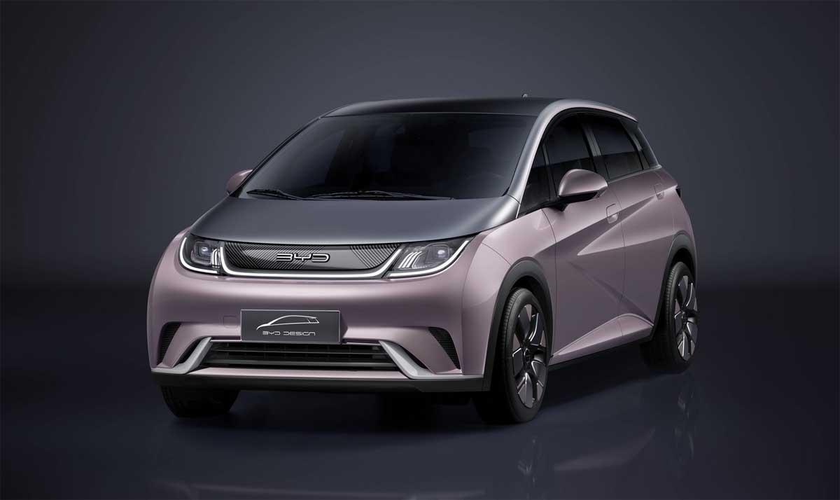 Liten elbil från BYD med lång räckvidd och toklågt pris lanseras i Kina